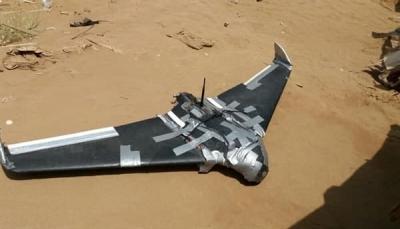 الجيش يعلن إسقاط طائرة مفخخة للحوثيين شرق الجوف
