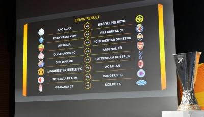 قمّة مرتقبة بين مانشستر يونايتد وميلان في ثمن نهائي الدوري الأوروبي