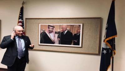الخارجية الأمريكية: لا يمكن حل أزمة اليمن من دون دعم سعودي