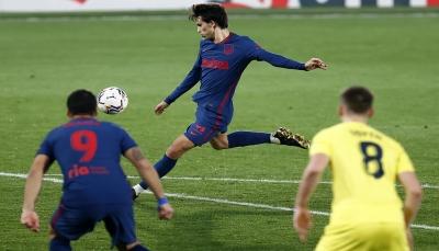 أتلتيكو مدريد يعود من أرض فياريال بالعلامة الكاملة