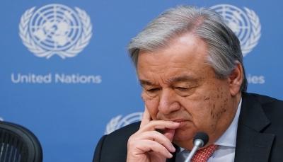 """جُمع 1.7 مليار دولار.. غوتيريش: نتائج مؤتمر المانحين لصالح اليمن """"مخيبة للآمال"""""""