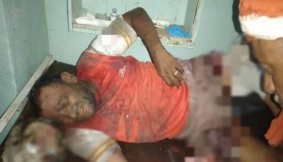 مقتل مواطن وإصابة شقيقه بقصف حوثي جنوب الحديدة