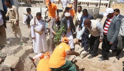 مأرب.. تدشين مشروع غرس 800 شجرة في المدارس