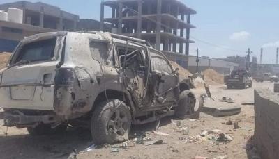"""عدن.. قتلى وجرحى في انفجار استهدف رتلاً عسكرياً لقيادات في """"الانتقالي"""""""