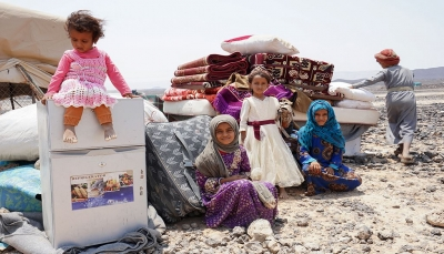 """""""رايتس رادار"""" تدعو المجتمع الدولي لتدارك الكارثة التي تهدد حياة أكثر من مليوني نازح في مأرب"""