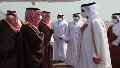 وزير الخارجية السعودي يزور الدوحة ويسلَّم أمير قطر رسالة من الملك سلمان