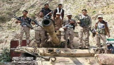 """محور تعز يدعو الصليب الأحمر لانتشال جثث الحوثيين من """"مقبنة"""""""