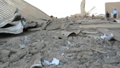 مأرب: إصابة مدني وتدمير منزله بصاروخ باليستي اطلقه الحوثيون على المدينة