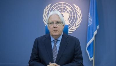 غريفيث يحيط مجلس الأمن بآخر مستجدات الوضع في اليمن مساء غدٍ الخميس