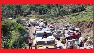 مليشيات الحوثي تشدد حصار تعز بإغلاق خط الأقروض أمام المسافرين