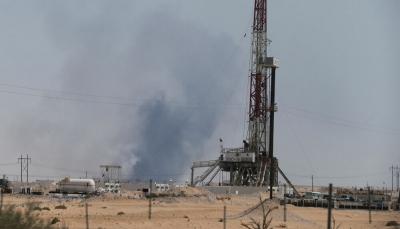 """السعودية: حريق هائل في محطة نفطية بـ""""جازان"""" جراء هجوم بمقذوف حوثي"""