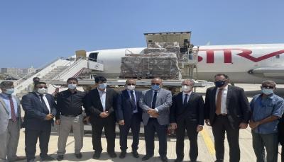 اليونيسف تعلن وصول أول شحنة من لقاحات فيروس كورونا إلى اليمن