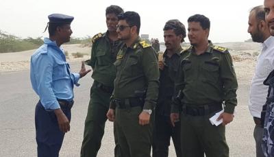شرطة أبين تعلن السيطرة على الطريق الساحلي وتأمينه بعد مواجهات مع مسلحين