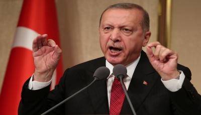 """أردوغان يهاجم ضباطا انتقدوا مشروع قناة إسطنبول ويتوعد """"الانقلابيين"""""""