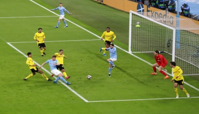 مانشستر سيتي يفوز على دورتموند ومعركة التأهل لا زالت مفتوحة