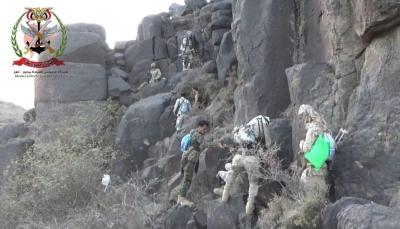الجيش الوطني يخوض معارك ضد ميليشيات الحوثي جنوب وغرب تعز