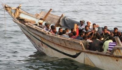 كان يحمل 60 مهاجراً.. 34 قتيلا إثر انقلاب قارب لمهربين قادم من اليمن قبالة سواحل جيبوتي