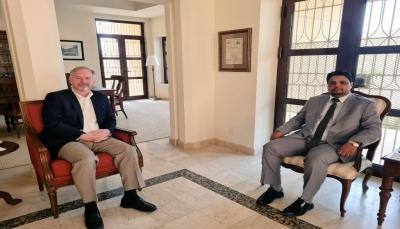 وزير الكهرباء يناقش مع السفير الأمريكي سبل تحسين المنظومة الكهربائية في اليمن