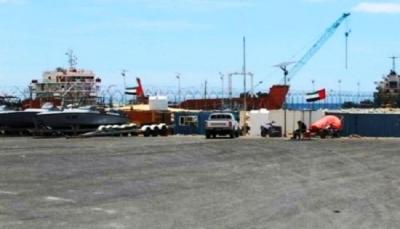 """الإمارات تستحدث إنشاءات جديدة في محيط """"ميناء سقطرى"""""""