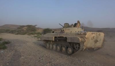 الصليب الأحمر تنتشل جثث عشرات الحوثيين من مناطق المواجهات غربي تعز
