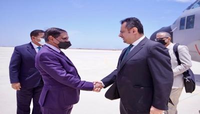 رئيس الحكومة يصل مدينة المكلا في حضرموت