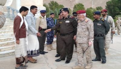بعد أيام من مغادرة عدن إلى الرياض.. وزير الداخلية يصل حضرموت