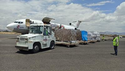 اليونيسف تعلن وصول طائرة محمّلة باللقاحات إلى مطار صنعاء