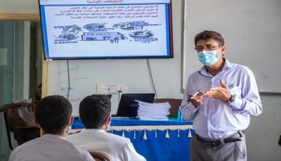"""اليونيسف تدرب 2000 من العاملين الصحيين في مكافحة العدوى بـ""""مأرب"""""""