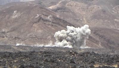 """مأرب.. مصرع 7 حوثيين بكمين للجيش في """"الكسارة"""" وتدمير عدد من الآليات"""