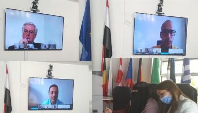 رابطة حقوقية تناقش مع ممثل حقوق الإنسان في الاتحاد الأوروبي ملف المختطفين باليمن