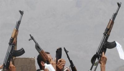 إب.. إصابة امرأة برصاص راجع أثناء احتفال الحوثيين بتشييع أحد قتلاهم