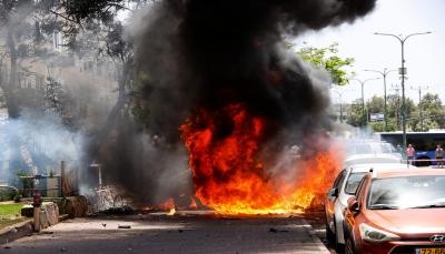 قتلى وجرحى وتعليق الرحلات بمطار بن غوريون.. كتائب القسام تضرب تل أبيب وضواحيها بـ130 صاروخا