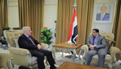 بن مبارك: التواصل مع روسيا سيستمر بوتيرة عالية للوصول إلى تفاهمات مشتركة