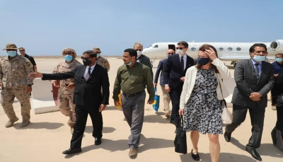 وزيرة خارجية السويد تزور حضرموت وتناقش مع المحافظ الأوضاع الأمنية والتنموية