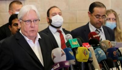 """في ختام زيارته إلى صنعاء.. غريفيت يؤكد على ضرورة """"وقف الحرب"""""""