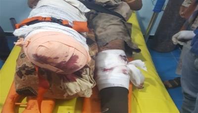 """إصابة أحد أعضاء فريق مشروع """"مسام"""" بانفجار لغم حوثي في تعز"""