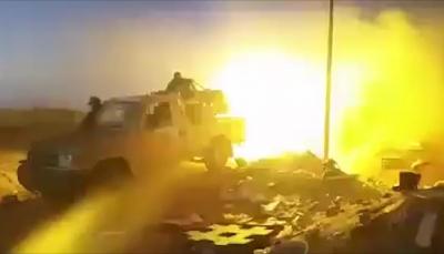 قتلى وجرحى حوثيين وتدمير آليات في معارك ليلية بالجوف ومأرب