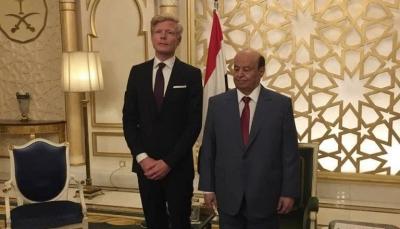 الحكومة الشرعية تستعد لاستقبال المبعوث الأممي الجديد في الرياض
