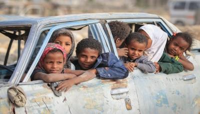 الأمم المتحدة: 53 في المئة من النازحين اليمنيين أطفال