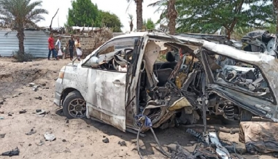 مقتل وإصابة 14 مدنيا بانفجار لغم زرعته مليشيا الحوثي جنوبي الحديدة