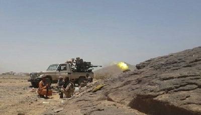"""قتلى وجرحى من مليشيا الحوثي في معارك وغارات جوية في جبهة """"القعيف"""" بالجوف"""