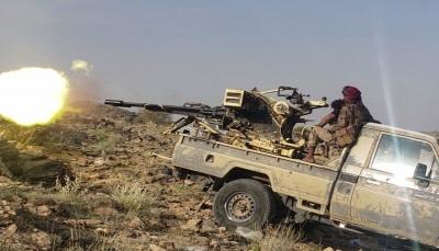 """معارك عنيفة بين قوات الجيش ومليشيا الحوثي في جبهة """"الجدافر"""" شرق الجوف"""