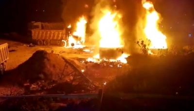 لبنان.. عشرات القتلى والجرحى في انفجار خزان بنزين بعكار شمالي البلاد