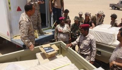 قادمة من منفذ شحن.. ضبط شاحنة تحمل 20 ألف جواز كانت في طريقها إلى الحوثيين