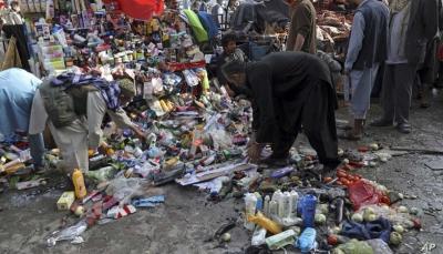 رويترز: سقوط 13 قتيلا في انفجار خارج مطار كابل بينهم عناصر لطالبان