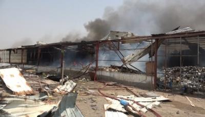 الحكومة تستنكر صمت البعثة الأممية إزاء هجوم الحوثي على ميناء المخا