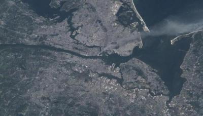 ناسا تنشر صورة من الفضاء لهجمات 11 سبتمبر