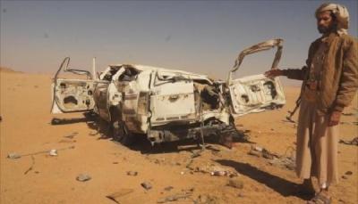 مقتل وإصابة شخصين بانفجار لغم حوثي في الجوف
