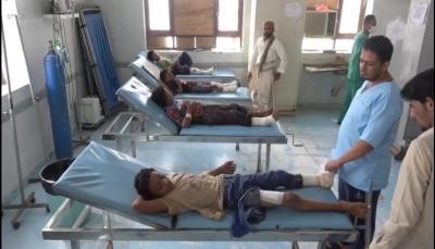 معظمهم أطفال من عائلة واحدة.. إصابة 15 مدنيًا بانفجار لغم حوثي جنوب الحديدة