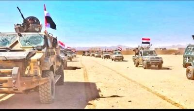 الجيش يستعيد مواقع شمال شرقي أبين وتعزيزات عسكرية تصل إلى المنطقة